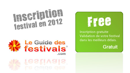 Festival Inscription 2013