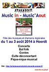 Music'in - Music'Aout