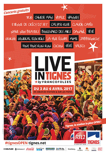 Live in Tignes by Francofolies