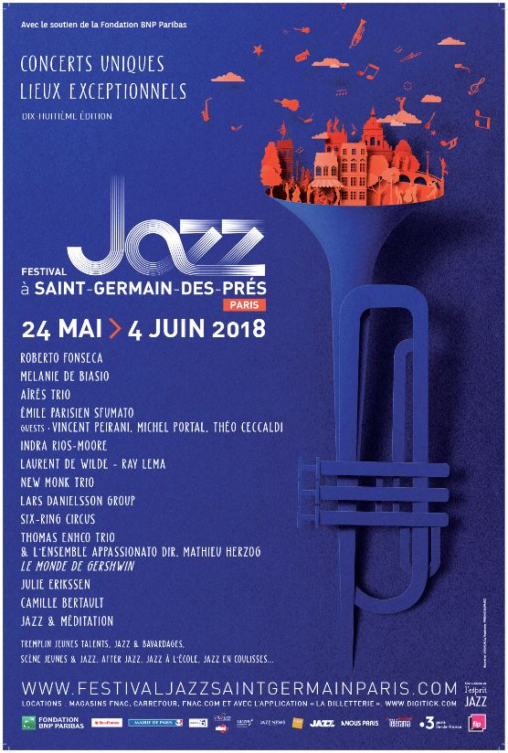 Festival Jazz à Saint-Germain-des-Prés Paris