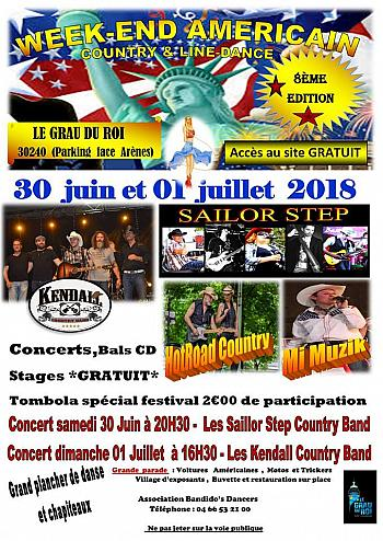 Week Kend Américain Country & Line Dance