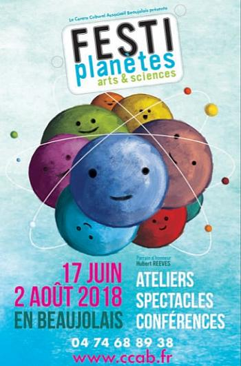 Festiplanètes - arts & sciences
