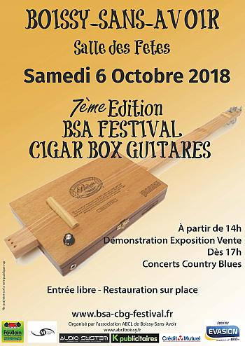 BSA Festival Cigarbox guitares