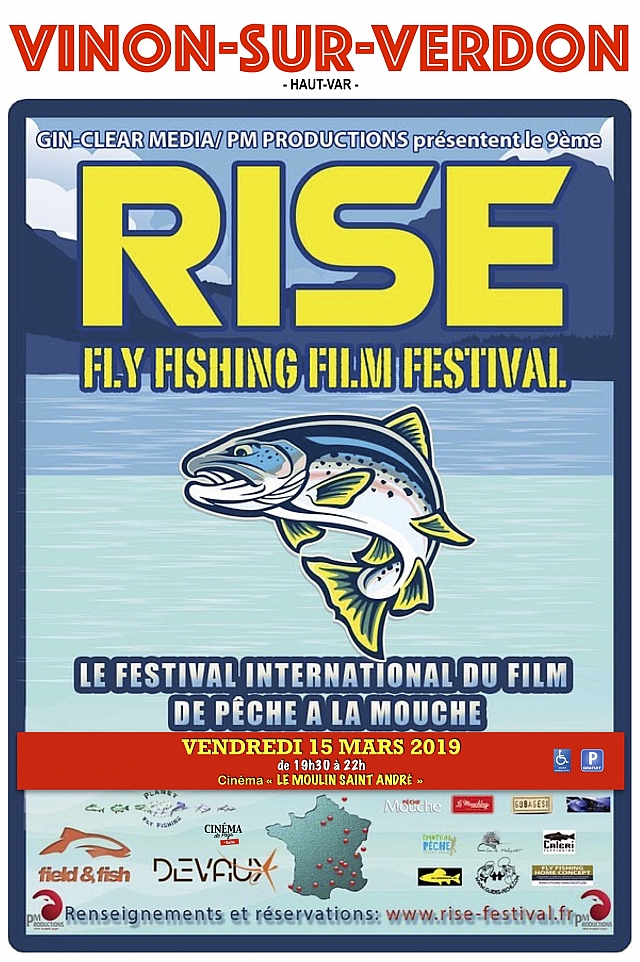 FESTIVAL INTERNATIONAL DU FILM DE PECHE À LA MOUCHE