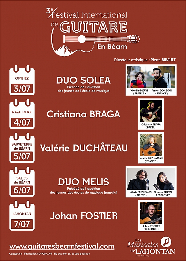 Festival International de Guitare en Béarn