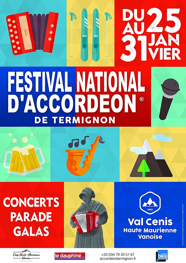 Festival National d'Accordéon de Termignon Val Cenis