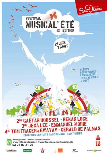Festival musical 39 t de saint dizier festival france for Parc du jard saint dizier
